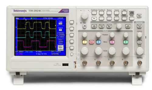 数字存储示波器tds2002c