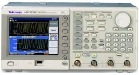 任意波形函数发生器afg3252c